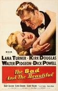 "Movie Posters:Drama, The Bad and the Beautiful (MGM, 1953). Very Fine- on Linen. One Sheet (27"" X 41.5"").. ..."