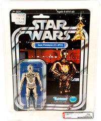 Star Wars - C-3PO 12 Back-A Action Figure (Kenner, 1978) AFA 75 EX+/NM