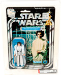 Toys:Action Figures, Star Wars - Princess Leia Organa 12 Back-A Action Figure (Kenner, 1978) AFA 80+ NM....