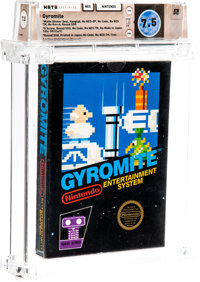 Gyromite [Matte Sticker, First Production] Wata 7.5 CIB NES Nintendo 1985 USA