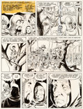 Original Comic Art:Panel Pages, Wally Wood The Wizard King #nn Story Page Original Art (Wallace Wood, 1978)....