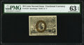 Fractional Currency:Second Issue, Fr. 1318 50¢ Second Issue PMG Choice Uncirculated 63 EPQ.. ...