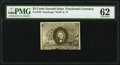 Fractional Currency:Second Issue, Fr. 1288 25¢ Second Issue PMG Uncirculated 62.. ...