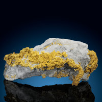 Gold on Quartz Unknown Mine, Timmins area Cochrane District, Ontario Canada
