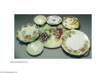 Ceramics & Porcelain, Continental:Other , AN ASSORTED GROUP OF STRAWBERRY MOTIF CERAMIC TABLEWARE