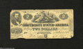 Confederate Notes:1862 Issues, T42 $2 1862....