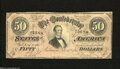 Confederate Notes:1864 Issues, T66 $50 1864....