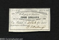 Confederate Notes:Group Lots, Confederate Bond Coupon....