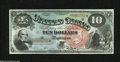 Large Size:Legal Tender Notes, Fr. 96 $10 1869 Legal Tender Note Gem New....