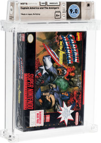 Captain America and the Avengers [Made in Japan] Wata 9.0 A+ SNES Mindscape 1993 USA