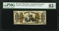 Fractional Currency:Third Issue, Fr. 1346 50¢ Third Issue Justice PMG Choice Uncirculated 63 EPQ.. ...