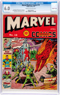 Golden Age (1938-1955):Superhero, Marvel Mystery Comics #18 (Timely, 1941) CGC FN 6.0 Cream to off-white pages....