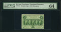 Fr. 1312 50¢ First Issue PMG Choice Uncirculated 64