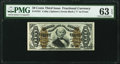 Fractional Currency:Third Issue, Fr. 1341 50¢ Third Issue Spinner Type II PMG Choice Uncirculated 63 EPQ.. ...
