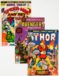 Silver Age (1956-1969):Miscellaneous, Comic Books - Assorted Silver to Modern Age Comics Group (Various Publishers, 1968-88) Condition: Average VG.... (Total: 57 )