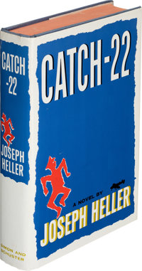 Joseph Heller. Catch-22. New York: Simon and Schuster, 1961. First edition, first printing. With tipped-in author