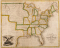 Books:Maps & Atlases, Solomon Schoyer. Map of the United States Drawn from the most approved Surveys. New York: 1826....