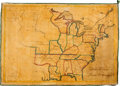 Books:Maps & Atlases, Betsey C. Converse. United States. [No place]: ca. 1820-1836....