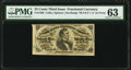 Fractional Currency:Third Issue, Fr. 1298 25¢ Third Issue PMG Choice Uncirculated 63.. ...