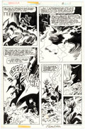 Original Comic Art:Panel Pages, Gene Colan and Tom Palmer Tomb of Dracula #64 Page 6 Original Art (Marvel Comics, 1978)...