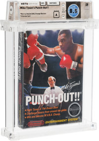 Mike Tyson's Punch-Out!! [Rev-A, Round SOQ, Mid-Production] Wata 8.5 A Sealed NES Nintendo 1987 USA