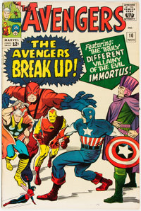 The Avengers #10 (Marvel, 1964) Condition: FN