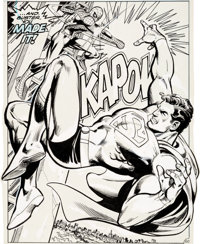 Ross Andru, Neal Adams, Dick Giordano, and Terry Austin Superman vs. The Amazing Spider-Man #nn Splash Page 50 Ori