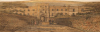 [Fore-Edge Painting]. Thomas Moore. The Poetical Works of Thomas Moore. London: 1854. First edition thus