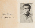 Books:Americana & American History, Jim Thorpe. Jim Thorpe's History of the Olympics. Los Angeles: Wetzel Publishing Com...