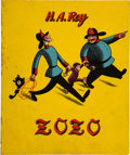 Books:Children's Books, H. A. Rey. Zozo. London: [1942]. First English edition....
