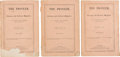 Books:Literature Pre-1900, [Edgar Allan Poe]. Complete Run of The Pioneer: a Literary and Critical Magazine. With First Appearances by Poe, H...