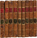 Books:Literature Pre-1900, Laurence Sterne. The Life and Opinions of Tristram Shandy, Gentleman. London: R. and J. Dodlsey [and:] T. Beckett an...