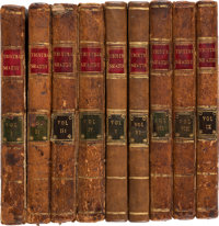Laurence Sterne. The Life and Opinions of Tristram Shandy, Gentleman. London: R. and J. Dodlsey [and:] T. Beckett an