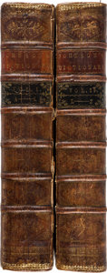 Books:World History, Samuel Johnson. Dictionary of the English Language: in which the Words are deduced from thei...