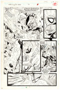 Original Comic Art:Panel Pages, Alex Saviuk and Keith Williams Web of Spider-Man #79 Story Page 6 Original Art (Marvel, 1991)....