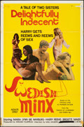 """Movie Posters:Adult, Swedish Minx & Other Lot (Swedish Film Production, 1975). Folded, Fine. One Sheets (2) (27"""" X 41"""" & 23"""" X 36""""). Adult.. ... (Total: 2 Items)"""