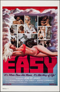 """Movie Posters:Adult, Easy (1978). Folded, Very Fine. One Sheet (27"""" X 41""""). Adult.. ..."""