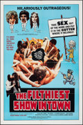 Movie Posters:Adult, The Filthiest Show in Town & Other Lot (William Mishkin Motion Pictures Inc., 1973). Folded, Overall: Fine/Very Fine. One Sh... (Total: 2 Items)