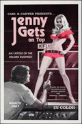 """Movie Posters:Adult, Jenny Gets on Top (Carl R. Carter, 1970). Folded, Fine/Very Fine. One Sheet (28"""" X 42""""). Adult.. ..."""
