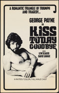 """Movie Posters:Adult, Kiss Today Goodbye & Other Lot (P.M. Productions, 1976). Folded, Very Fine-. Posters (2) (19"""" X 30.25""""). Adult.. ... (Total: 2 Items)"""