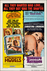 "The Photographer's Models/Hookers Revenge Combo (United Producers, 1976). Folded, Very Fine-. One Sheet (27"" X 41&q..."