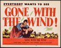 "Movie Posters:Academy Award Winners, Gone with the Wind (MGM, R-1947). Very Fine. Title Lobby Card (11"" X 14""). Academy Award Winners.. ..."