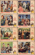 """Movie Posters:Comedy, Road to Morocco (Paramount, 1942). Overall: Fine+. Lobby Card Set of 8 (11"""" X 14""""). Comedy.. ... (Total: 8 Items)"""