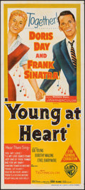 """Movie Posters:Musical, Young at Heart (Warner Bros., 1955). Folded, Very Fine+. Australian Daybill (13.5"""" X 30""""). Musical.. ..."""