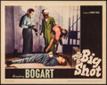 """Movie Posters:Crime, The Big Shot (Warner Bros., 1942). Very Fine. Lobby Card (11"""" X 14""""). Crime.. ..."""