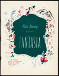 "Movie Posters:Animation, Fantasia (RKO, 1940). Fine/Very Fine. Program (32 Pages, 9.75"" X 12.75""). Animation.. ..."