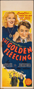"""Movie Posters:Comedy, The Golden Fleecing (MGM, 1940). Folded, Fine+. Australian Pre-War Daybill (15"""" X 40""""). Comedy.. ..."""