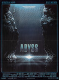"Movie Posters:Science Fiction, The Abyss (20th Century Fox France, 1989). Folded, Very Fine/Near Mint. French Grande (45.75"" X 62"") Zoran Artwork. Science ..."