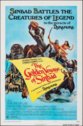 """Movie Posters:Fantasy, The Golden Voyage of Sinbad (Columbia, 1973). Folded, Very Fine. One Sheet (27"""" X 41"""") Style A. Fantasy.. ..."""