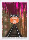 """Movie Posters:Adventure, Stand By Me (Alamo Drafthouse, R-2007). Rolled, Very Fine+. Rolling Road Show Screen Print Poster (24"""" X 32.5"""") Thomas Scott..."""